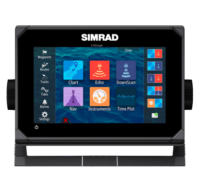 Simrad Releases GO7 Standalone Multi-Touch Display