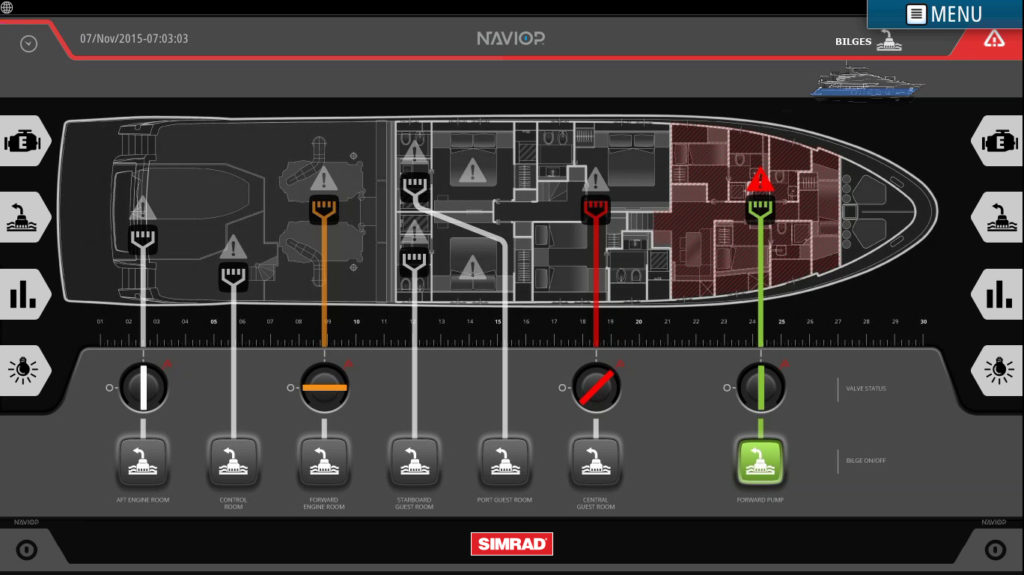 Navico and Naviop Announce Strategic Partnership to Develop Glass Bridge Management System